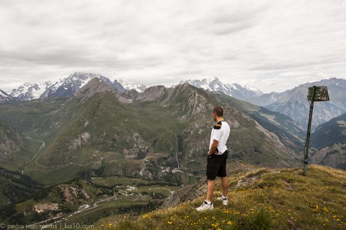 Ama, ama, ama. Y ensancha el alma. Foto Gran San Bernardo. Alpes