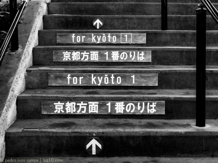 Viaje a Japon, primera parada, Kyoto