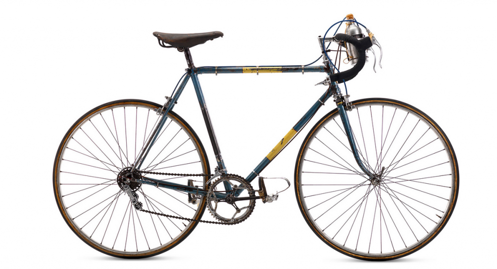 1951. Una bicicleta para la maglia nera pedro ivan ramos luz10