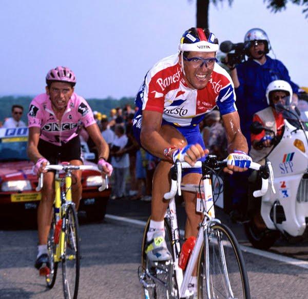 1995. Una etapa y un Tour para recordar. Ya sobre aluminio.