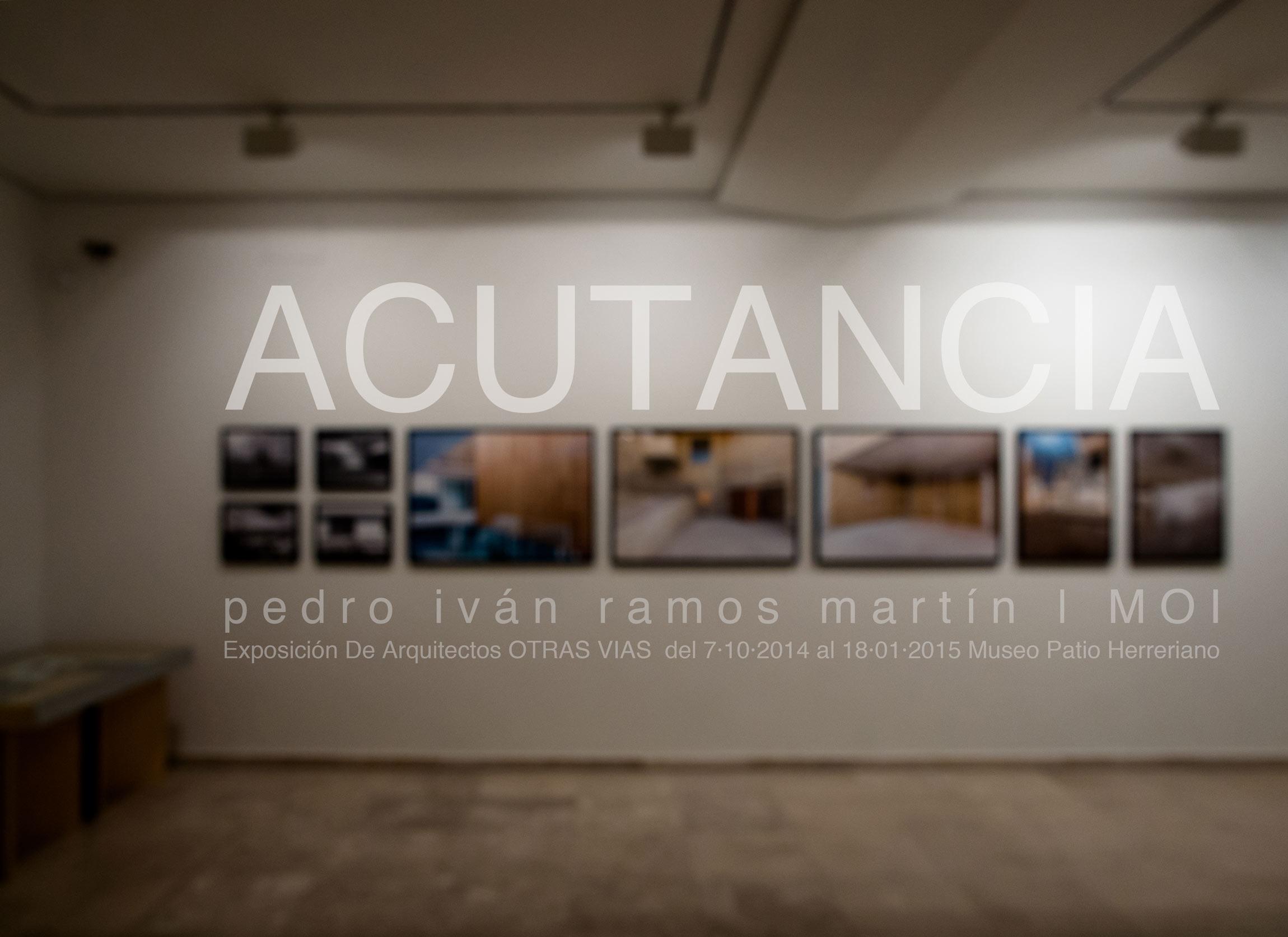 © pedro ivan ramos martin luz10 Expuestos en el Museo Patio Herreriano. Casi nada, oiga.