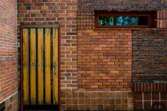 Mosaico a ladrillazo limpio © luz10.com